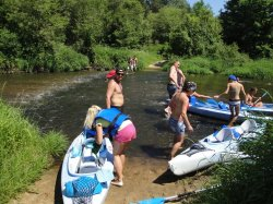 Przystanek Nida - spływy kajakowe jednodniowe i weekendowe - Sezon 2011 (63)